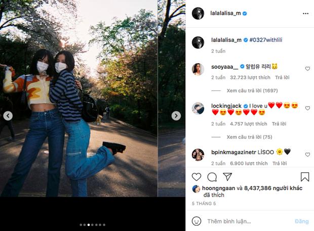 Không chỉ có lượng followers Instagram khủng nhất Kpop, Lisa (BLACKPINK) còn là nữ idol duy nhất đạt được thành tích này! - Ảnh 4.
