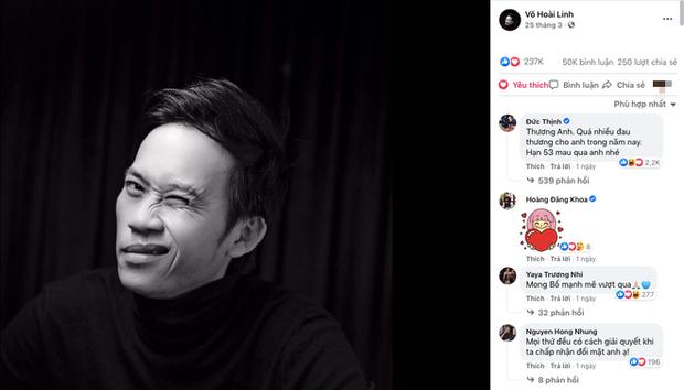 Netizen tràn vào ảnh đại diện của NS Hoài Linh giữa lùm xùm từ thiện, ca sĩ Quang Hà nhắn nhủ đến đàn anh một điều - Ảnh 1.