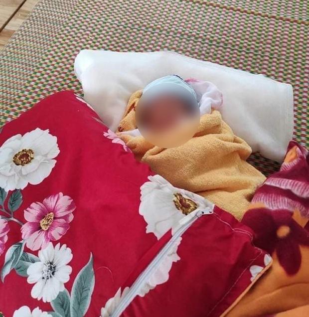 Bé gái 3 ngày tuổi phải cách ly một mình vì mẹ là F0, bố bị ung thư - Ảnh 3.