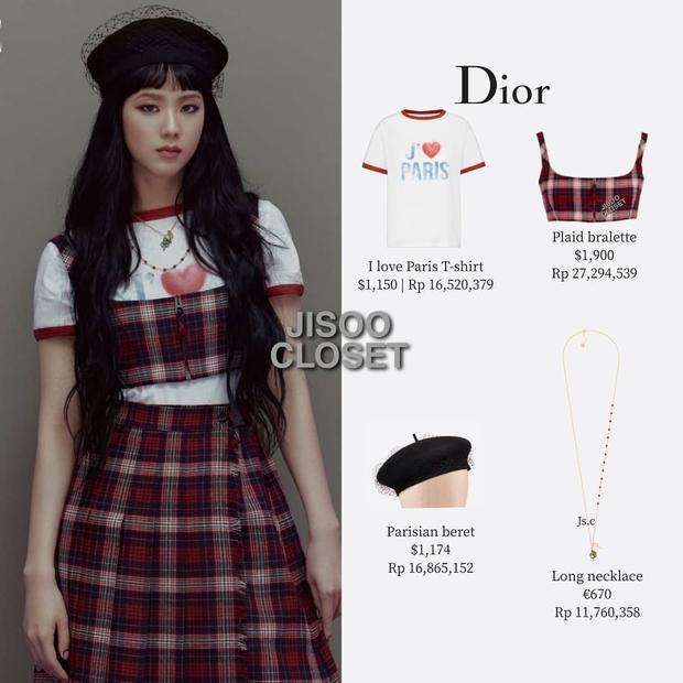 Trả lời nhanh: Muốn mặc đồ Dior đẹp như Jisoo thì phải mất tầm bao nhiêu tiền? - Ảnh 8.