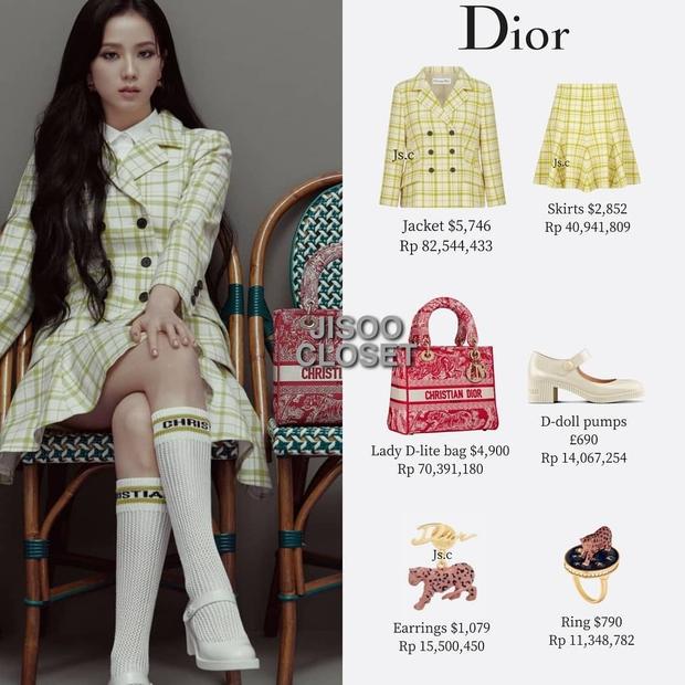 Trả lời nhanh: Muốn mặc đồ Dior đẹp như Jisoo thì phải mất tầm bao nhiêu tiền? - Ảnh 6.