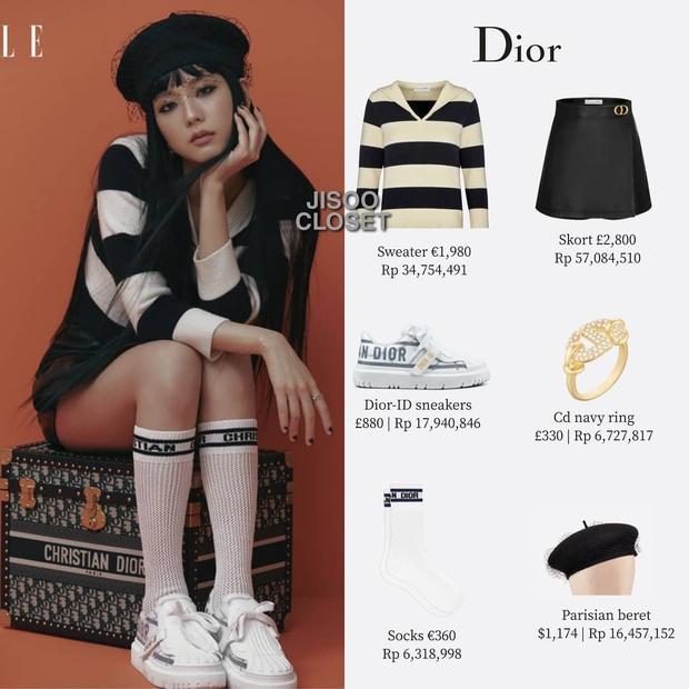 Trả lời nhanh: Muốn mặc đồ Dior đẹp như Jisoo thì phải mất tầm bao nhiêu tiền? - Ảnh 7.