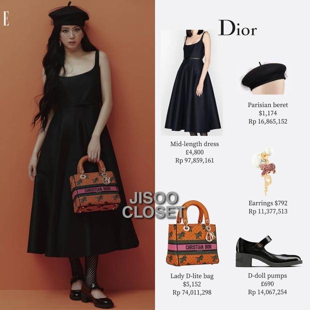 Trả lời nhanh: Muốn mặc đồ Dior đẹp như Jisoo thì phải mất tầm bao nhiêu tiền? - Ảnh 9.