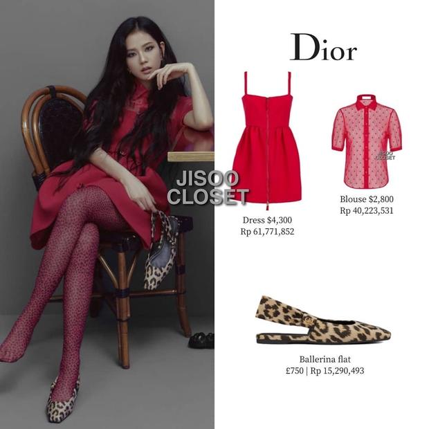 Trả lời nhanh: Muốn mặc đồ Dior đẹp như Jisoo thì phải mất tầm bao nhiêu tiền? - Ảnh 1.