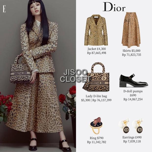 Trả lời nhanh: Muốn mặc đồ Dior đẹp như Jisoo thì phải mất tầm bao nhiêu tiền? - Ảnh 2.