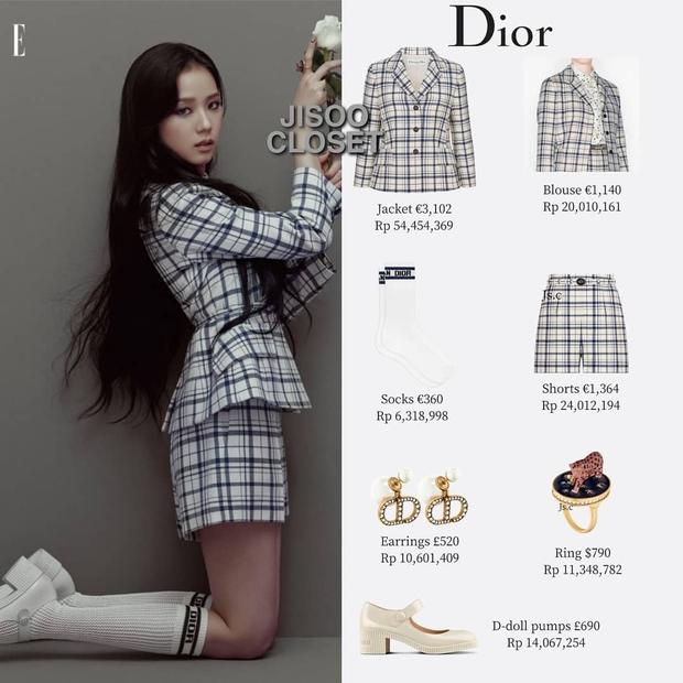 Trả lời nhanh: Muốn mặc đồ Dior đẹp như Jisoo thì phải mất tầm bao nhiêu tiền? - Ảnh 3.