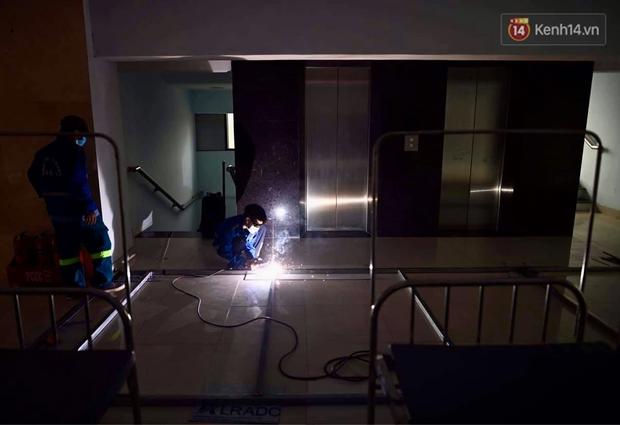 Cận cảnh bệnh viện dã chiến Bắc Giang đang khẩn trương hoàn thiện để điều trị bệnh nhân Covid-19 - Ảnh 5.