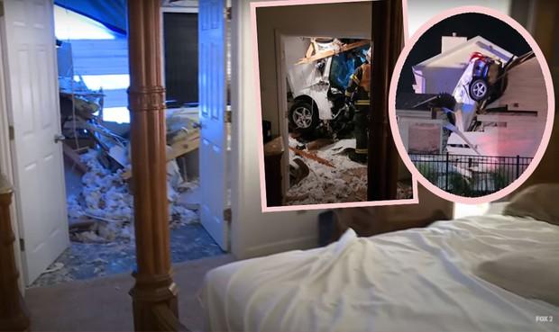 Hi hữu: Ô tô trên trời rơi xuống thủng mái nhà lúc nửa đêm, tài xế xe bay còn xin... ngủ nhờ vì quá sợ - Ảnh 5.