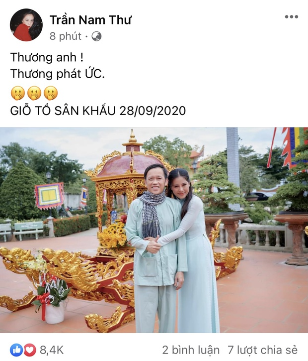 Nam Thư có động thái bảo vệ NS Hoài Linh, tiết lộ thương đàn anh đến phát ức giữa lùm xùm từ thiện - Ảnh 2.