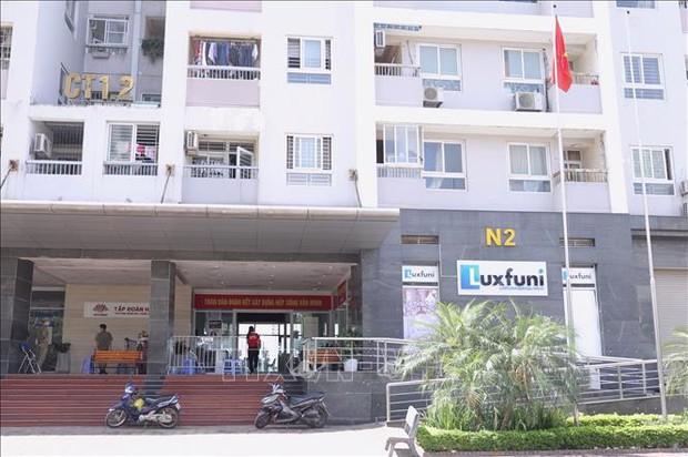 Hà Nội: Cách ly ngõ 68 Cầu Giấy và tòa CT12 N2 chung cư 183 Hoàng Văn Thái - Ảnh 1.