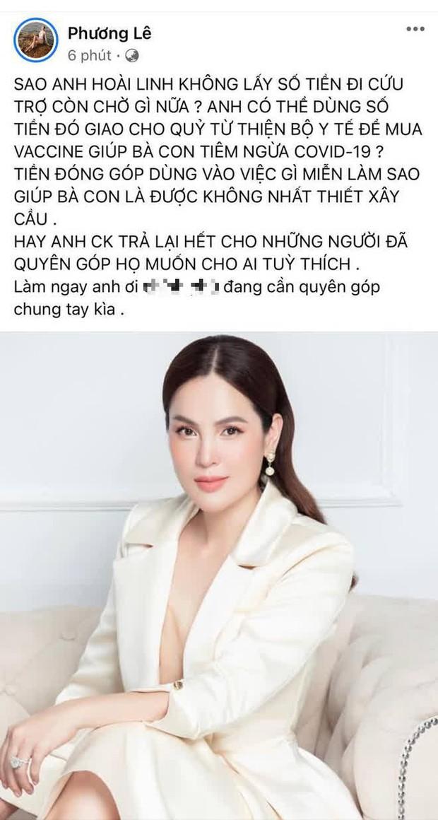 Sau khi bị netizen phản ứng dữ dội, Hoa hậu ở nhà 200 tỷ tiếp tục mỉa mai NS Hoài Linh: Giàu quá trời, nghe nói giá PR cao lắm - Ảnh 3.
