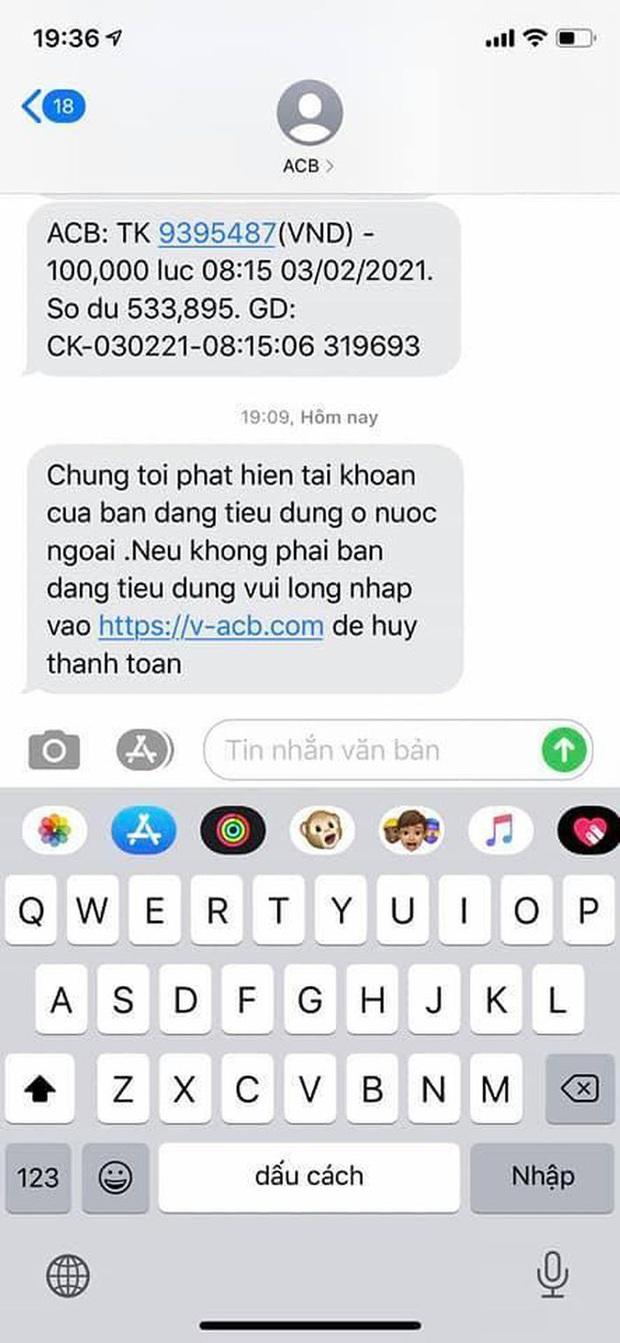 Người dùng nhận nhiều tin nhắn lừa đảo, giả mạo từ đầu số ngân hàng Vietcombank - Ảnh 5.