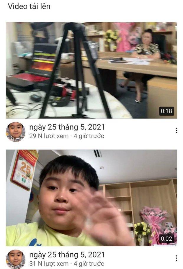 Con trai bà Phương Hằng lên livestream của mẹ thổ lộ kênh YouTube có 1 người đăng ký, 30 phút sau tăng chóng mặt - Ảnh 2.