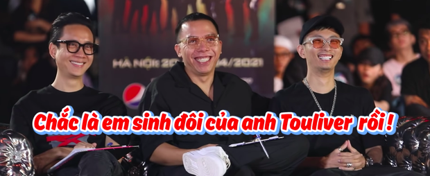Touliver hoang mang khi trông thấy anh em sinh đôi casting Rap Việt mùa 2 - Ảnh 2.
