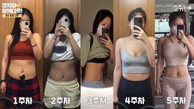 """Màn giảm cân xôn xao Kpop: Từ 62,4kg, mỹ nhân sexy SISTAR đánh bay eo """"bé mỡ"""" và có thành quả ngỡ ngàng chỉ sau 6 tuần - Ảnh 3."""
