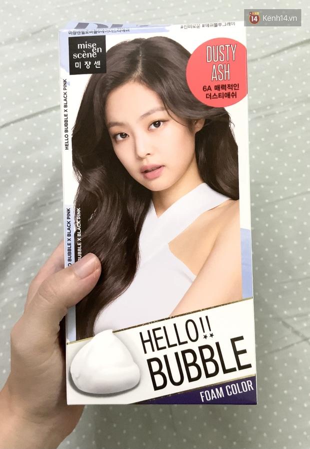 Dùng thử thuốc nhuộm tóc màu khói siêu hot Jennie quảng cáo: Kết quả còn tùy thuộc nhân phẩm nha! - Ảnh 4.