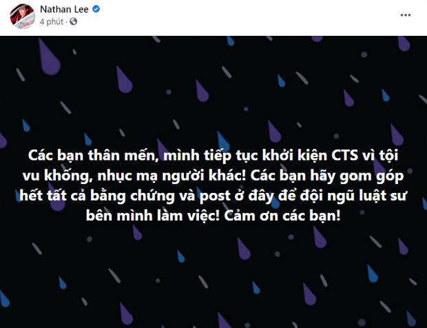 NÓNG: Nathan Lee tuyên bố sẽ tiếp tục khởi kiện Cao Thái Sơn vì tội vu khống, nhục mạ người khác - Ảnh 1.