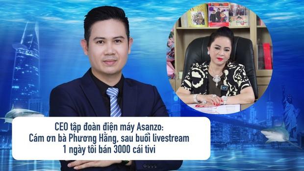 Chủ tịch tập đoàn điện máy bán 3000 cái tivi sau livestream của đại gia Phương Hằng được mọi người góp ý... nên tặng cô 1 chiếc! - Ảnh 1.