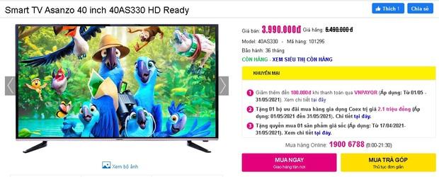 Netizen hò nhau mua tivi để hóng livestream của đại gia Phương Hằng: Từ 3 triệu dư sức tậu, nhiều loại xịn xò cũng chỉ dưới 5 triệu - Ảnh 11.