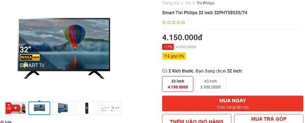 Netizen hò nhau mua tivi để hóng livestream của đại gia Phương Hằng: Từ 3 triệu dư sức tậu, nhiều loại xịn xò cũng chỉ dưới 5 triệu - Ảnh 15.