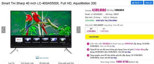 Netizen hò nhau mua tivi để hóng livestream của đại gia Phương Hằng: Từ 3 triệu dư sức tậu, nhiều loại xịn xò cũng chỉ dưới 5 triệu - Ảnh 17.
