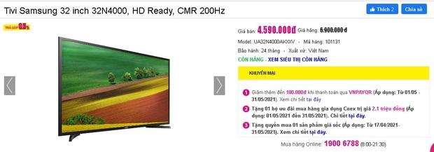 Netizen hò nhau mua tivi để hóng livestream của đại gia Phương Hằng: Từ 3 triệu dư sức tậu, nhiều loại xịn xò cũng chỉ dưới 5 triệu - Ảnh 19.