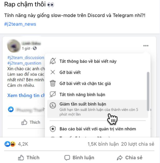 """Facebook vừa cập nhật tính năng mới theo đúng tiêu chí """"rap chậm thôi"""": Từ nay quên chuyện spam đi - Ảnh 2."""