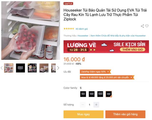 Nhiều loại màng bọc, hộp bảo quản thực phẩm đang sale siêu rẻ, chị em không mua thì phí lắm - Ảnh 3.