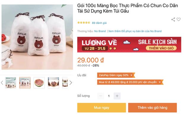 Nhiều loại màng bọc, hộp bảo quản thực phẩm đang sale siêu rẻ, chị em không mua thì phí lắm - Ảnh 5.