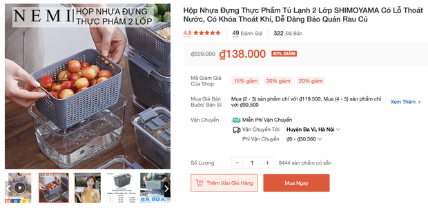 Nhiều loại màng bọc, hộp bảo quản thực phẩm đang sale siêu rẻ, chị em không mua thì phí lắm - Ảnh 11.