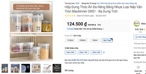 Nhiều loại màng bọc, hộp bảo quản thực phẩm đang sale siêu rẻ, chị em không mua thì phí lắm - Ảnh 15.
