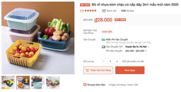Nhiều loại màng bọc, hộp bảo quản thực phẩm đang sale siêu rẻ, chị em không mua thì phí lắm - Ảnh 9.