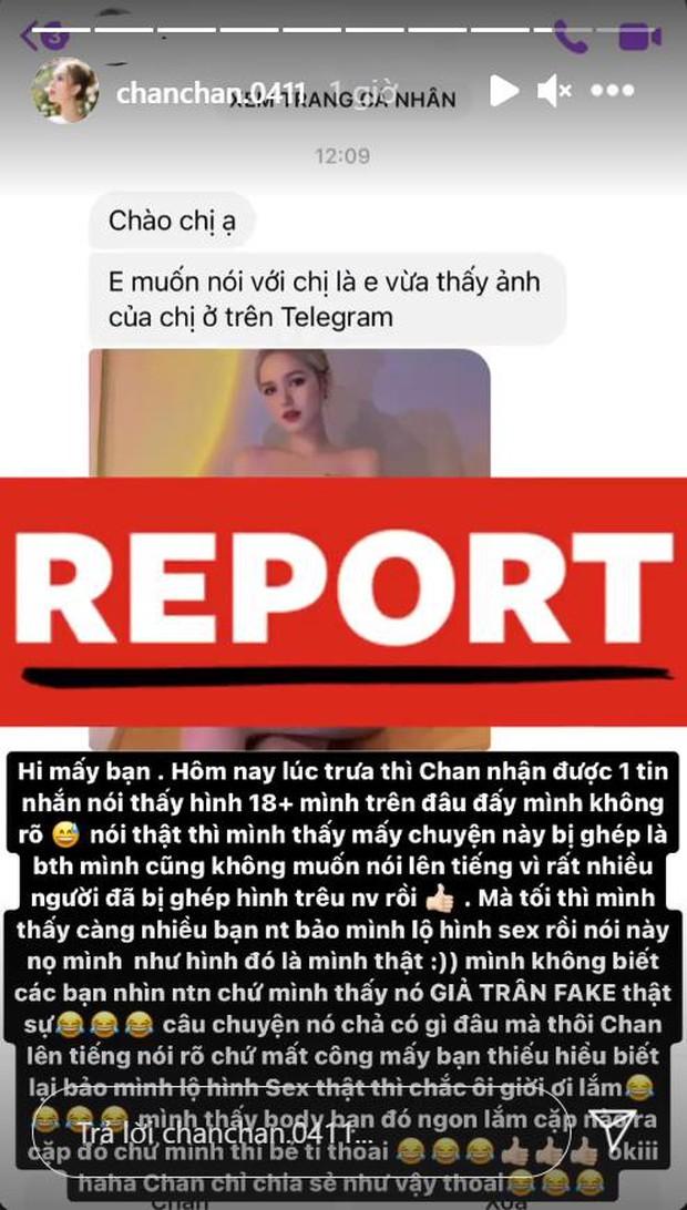 Cộng đồng mạng thi nhau lan truyền ảnh hotgirl Xoài Non 18+, chính chủ ngay lập tức lên tiếng xác thực - Ảnh 1.