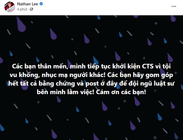 NS Nguyễn Văn Chung nhắn nhủ Nathan Lee: Đừng kiện nữa, Chung phiền rồi! - Ảnh 2.
