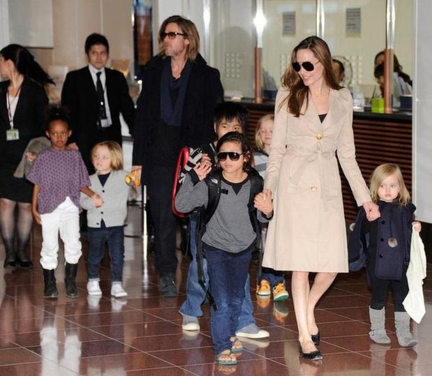 Sau 5 năm tranh chấp, Brad Pitt bất ngờ giành được quyền nuôi con từ tay Angelina Jolie - Ảnh 2.