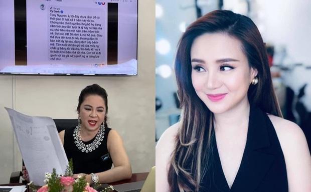 Lật lại phát ngôn tố Vy Oanh cách đây 2 năm của Thu Hoài, trùng hợp sao lại giống lời bà Phương Hằng kể trong livestream? - Ảnh 1.