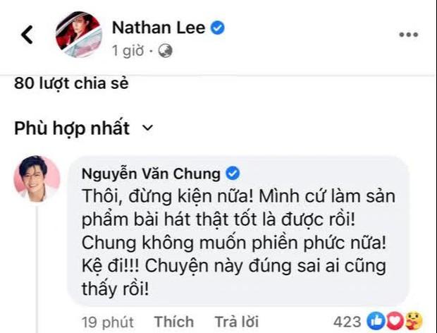 NS Nguyễn Văn Chung nhắn nhủ Nathan Lee: Đừng kiện nữa, Chung phiền rồi! - Ảnh 3.