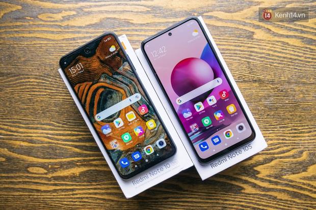 Trên tay bộ đôi Redmi Note 10 5G và Redmi Note 10S của Xiaomi - Ảnh 12.