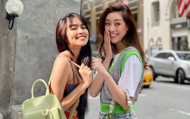 Cuối cùng thì 2 nàng Khánh Vân cũng tương tác với nhau nhưng có chút nhầm nhọt sang trồng trọt! - Ảnh 2.