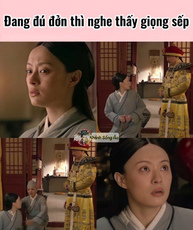 Mừng sinh nhật Chân Hoàn với loạt meme cười rớt hàm: Quên sao được mẹ bầu ôm bụng đi hóng drama! - Ảnh 14.