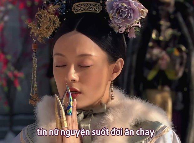 Mừng sinh nhật Chân Hoàn với loạt meme cười rớt hàm: Quên sao được mẹ bầu ôm bụng đi hóng drama! - Ảnh 9.