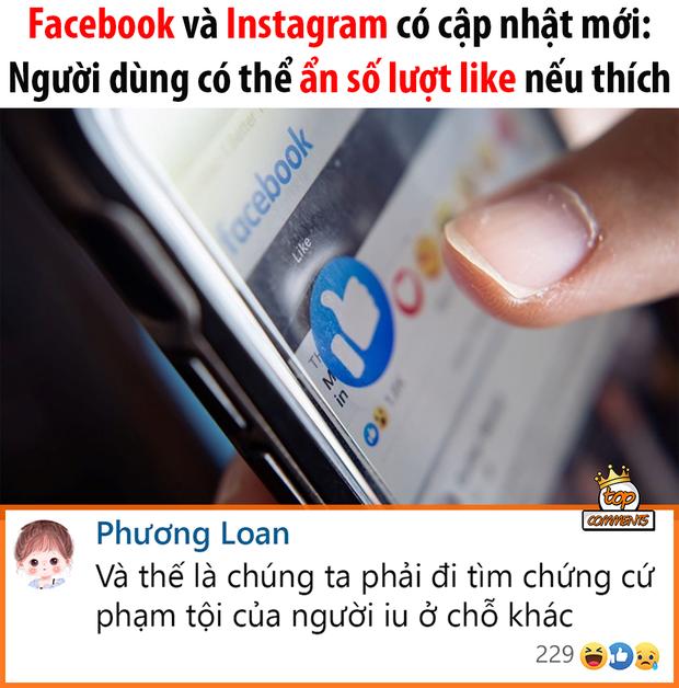 Thực hư việc Facebook và Instagram cho ẩn lượt like/tim, cộng đồng mạng lo lắng không còn truy vết được trà xanh? - Ảnh 1.