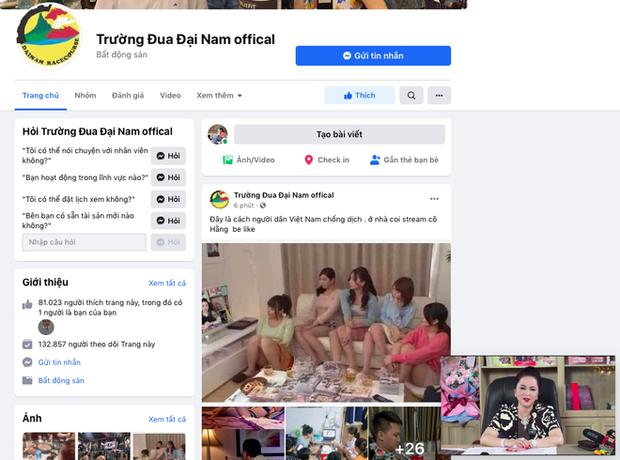 Vừa đặt lịch livestream tối 29/5, fanpage chính thức của bà Phương Hằng bỗng dưng bốc hơi giữa đêm - Ảnh 2.