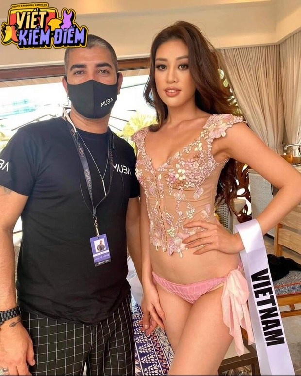 Lộ mẫu bikini xấu chưa từng thấy của HH Khánh Vân tại Miss Universe, fan kêu trời: Sao thiệt thòi cho Vân vậy? - Ảnh 4.