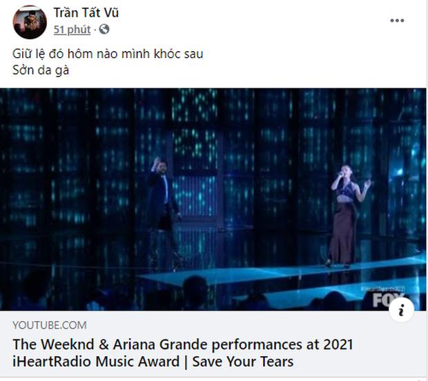 Ariana Grande có sân khấu đầu tiên sau khi kết hôn, diễn với The Weeknd đỉnh ra sao mà BigDaddy cũng phải cảm thán sởn da gà? - Ảnh 4.