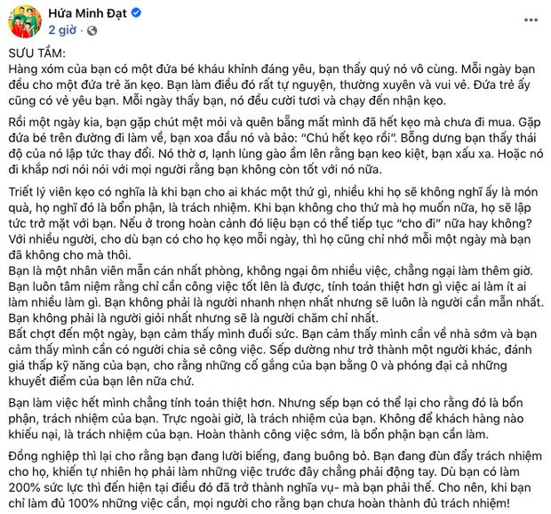 Sao Vbiz sau khi bênh vực NS Hoài Linh: Status của Cát Phượng, Nam Thư bay màu, Hứa Minh Đạt bị netizen dập tơi tả - Ảnh 7.