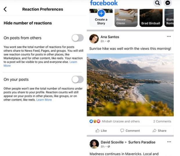 Thực hư việc Facebook và Instagram cho ẩn lượt like/tim, cộng đồng mạng lo lắng không còn truy vết được trà xanh? - Ảnh 3.