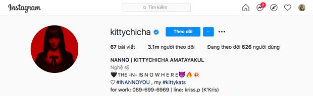 Instagram của Kitty Nanno vượt mốc 3 triệu follower, con số siêu khủng thu về trong vòng 1 tháng sẽ khiến bạn bất ngờ - Ảnh 4.