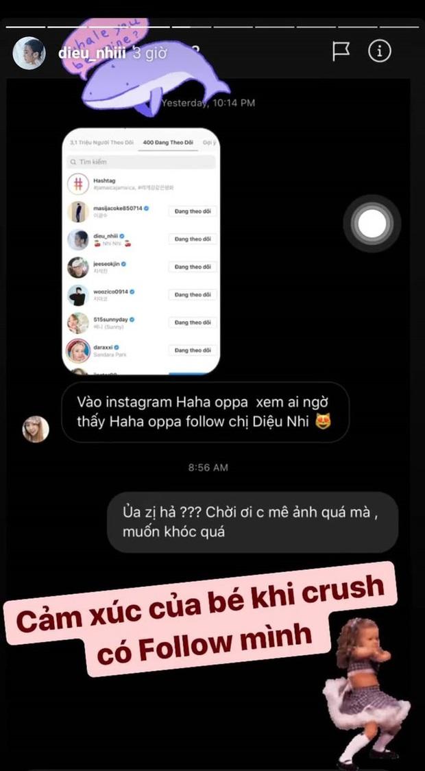 Diệu Nhi liên tục được fan réo gọi tham gia Running Man Việt Nam mùa 2, lý do vì mối quan hệ đặc biệt của cô với Haha? - Ảnh 2.