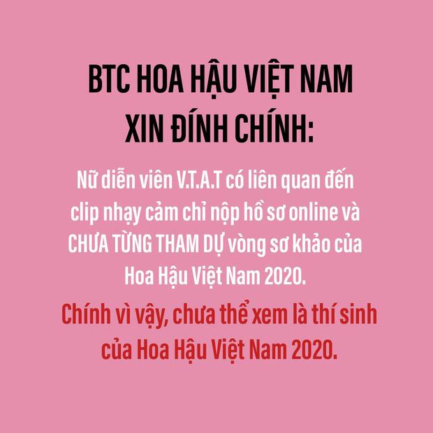 BTC Hoa hậu Việt Nam nhờ luật sư vào cuộc lên tiếng về nghi vấn cô gái nghi lộ clip sex từng tham gia cuộc thi năm 2020 - Ảnh 2.